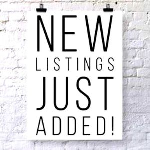 New Items Listed Weekly!
